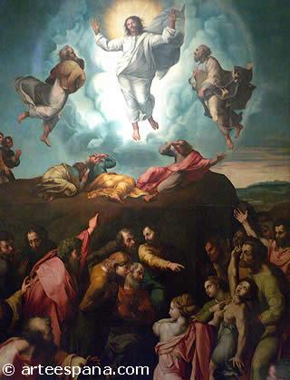 """Renacimiento Italiano: Rafael """"La Transfiguración del Señor"""""""