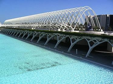 Ciudad de las Artes y las Ciencias, de Santiago Calatrava
