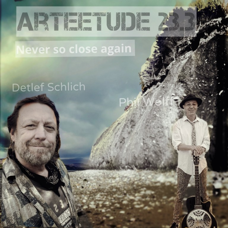 Episode 23.3 Music Producer & Rock´n Roller Phil Wolff in an ArTEEtude talk with Detlef Schlich about Wolff´s future challenge to move over to Norway starting a new life after 20 years living in Spain and more. At the end of each episode, we will listen to one of Phil Woff´s songs.