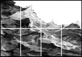 Encre sur papier photo ( exposition Earth Wind & Fire) 2012