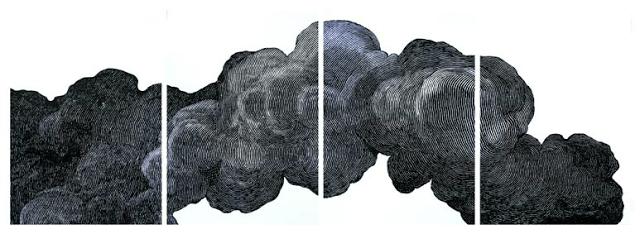 Encre sur papier photo (exposition Earth, wind & Fire Paris, avril 2012)