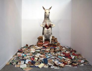 El Asno - Pilar Albarracin, 2010 - Galerie G.P. et N. Vallois Paris