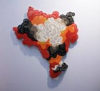 franck Loret, Blast 2014, Galerie Patrick Trigano