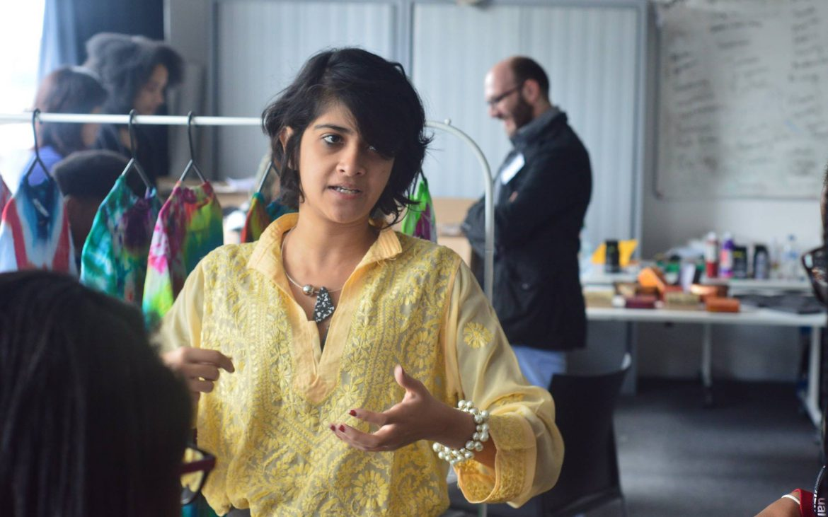 Roshnee Desai, an alumna of UAL, joined the project as mentor