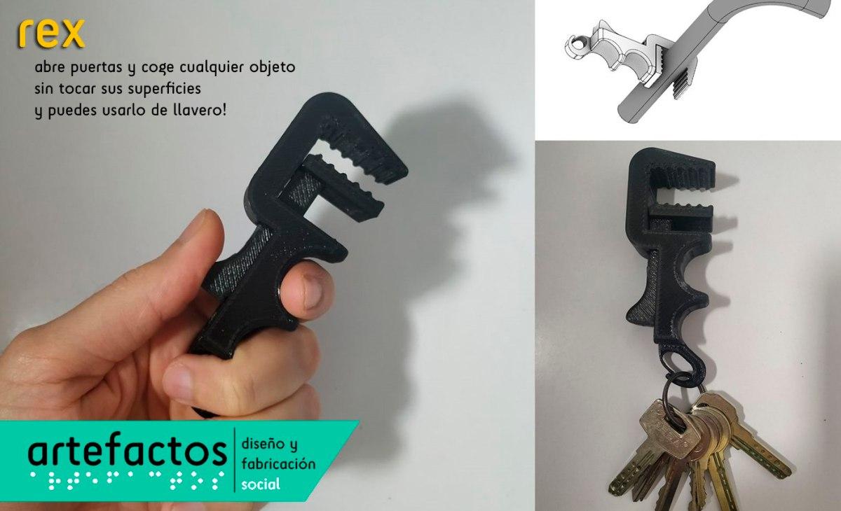Rex dispositivo abre puertas y objetos