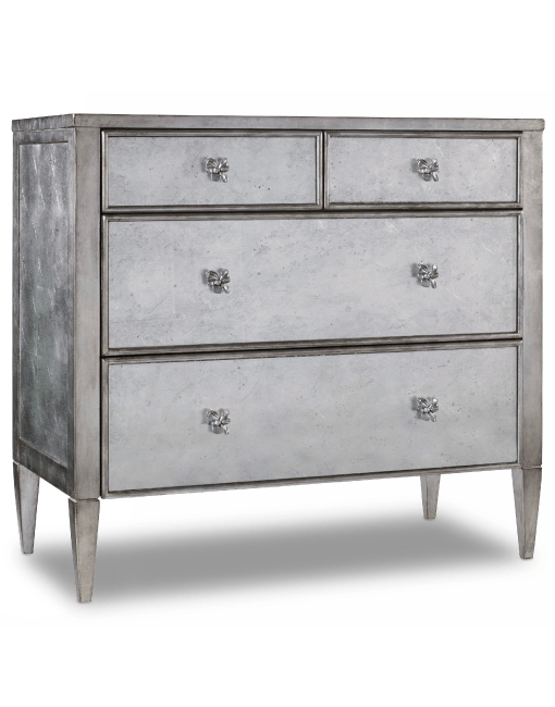 Hooker furniture living room melange urbane mirrored chest Mirrored living room furniture