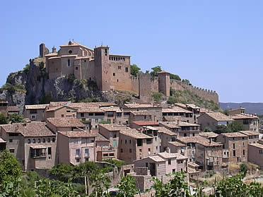 Vista del conjunto de Alquézar, conquistado por Sancho Ramírez hacia 1067