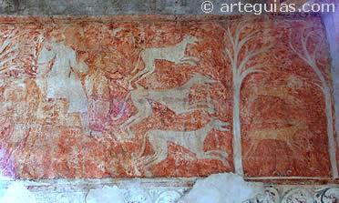 Impronta del sector de la caza de liebres, actualmente en el Museo del Prado