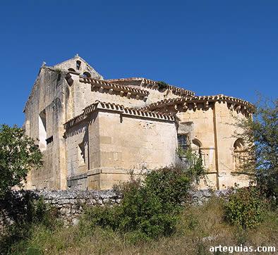 Iglesia de Nuestra Señora de la Antigua de Butrera, desde el sureste