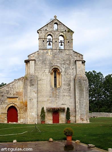Fachada occidental. Santa Eufemia de Cozuelos