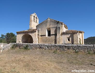 La iglesia desde el sur