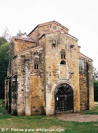 Arquitectura asturiana de Ramiro I: San Miguel de Lillo