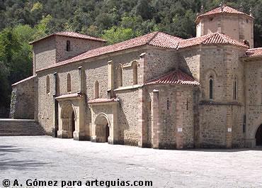 El Gótico Primitivo de Santo Toribio de Liébana. Cantabria