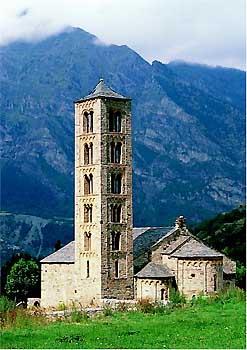 Sant Climent de Taüll (Tahull), iglesia más importante de Vall de Boí
