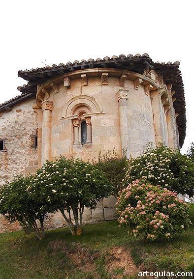 San Martín de Zar: bella cabecera del románico del Condado de Treviño