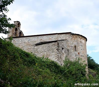 Santa María de Cardet, una de las iglesias menos conocidas del Vall de Boí