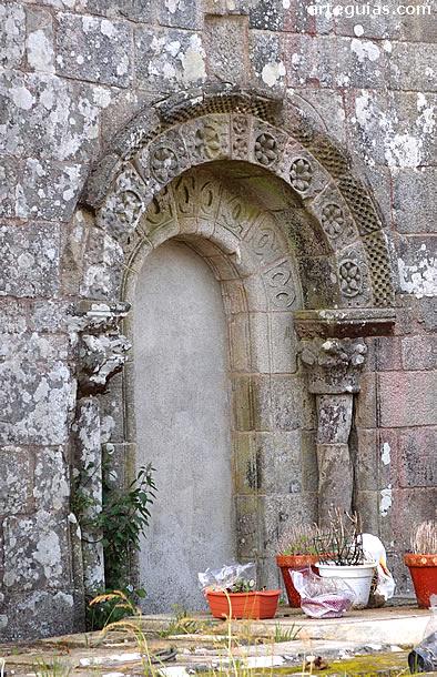 Puerta del costado norte