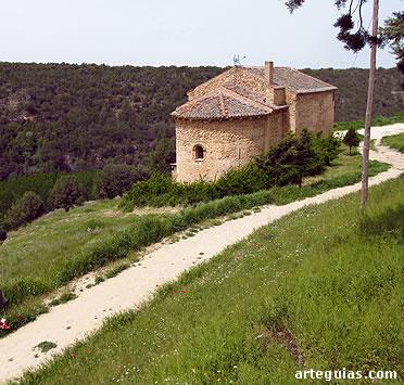 Una de las ermitas románicas de la villa de Pedraza