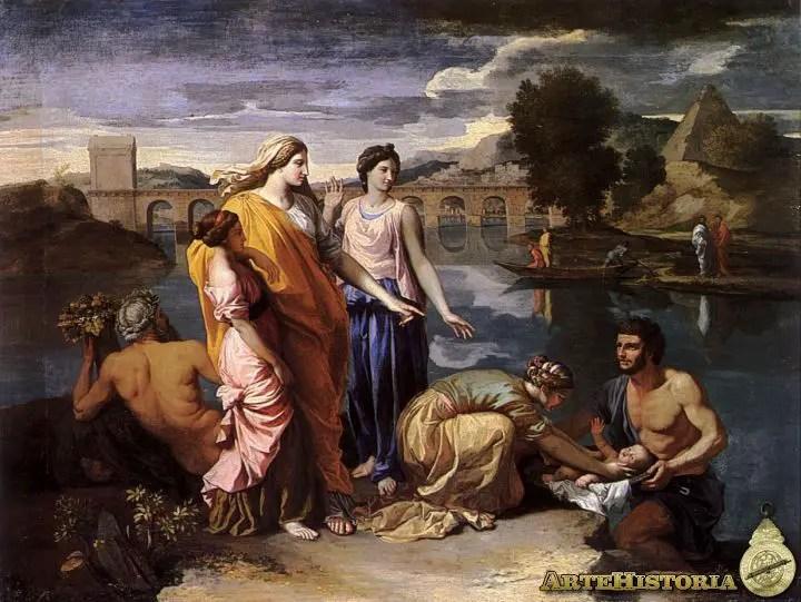 Resultado de imagen para Moisés sacado de las aguas