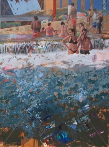Figurativo VII - Playa de Interior, Jose Miguel Alguer.