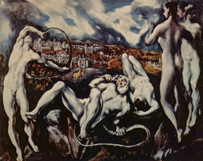 El Greco. Laocoonte