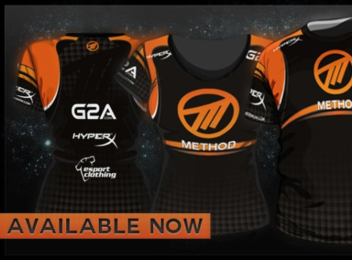 Web Banner for New eSports Jersey Design Launch