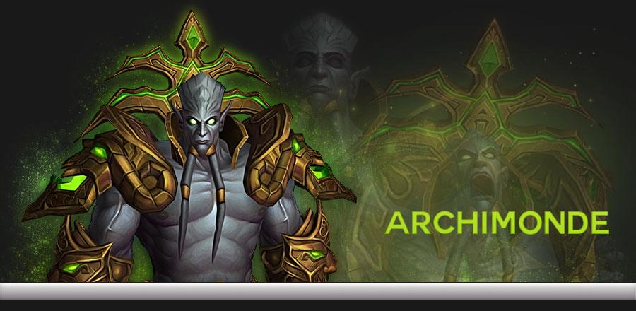 Archimonde web banner