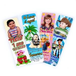 marcador de livro arte no papel lembrancinhas personalizadas com foto