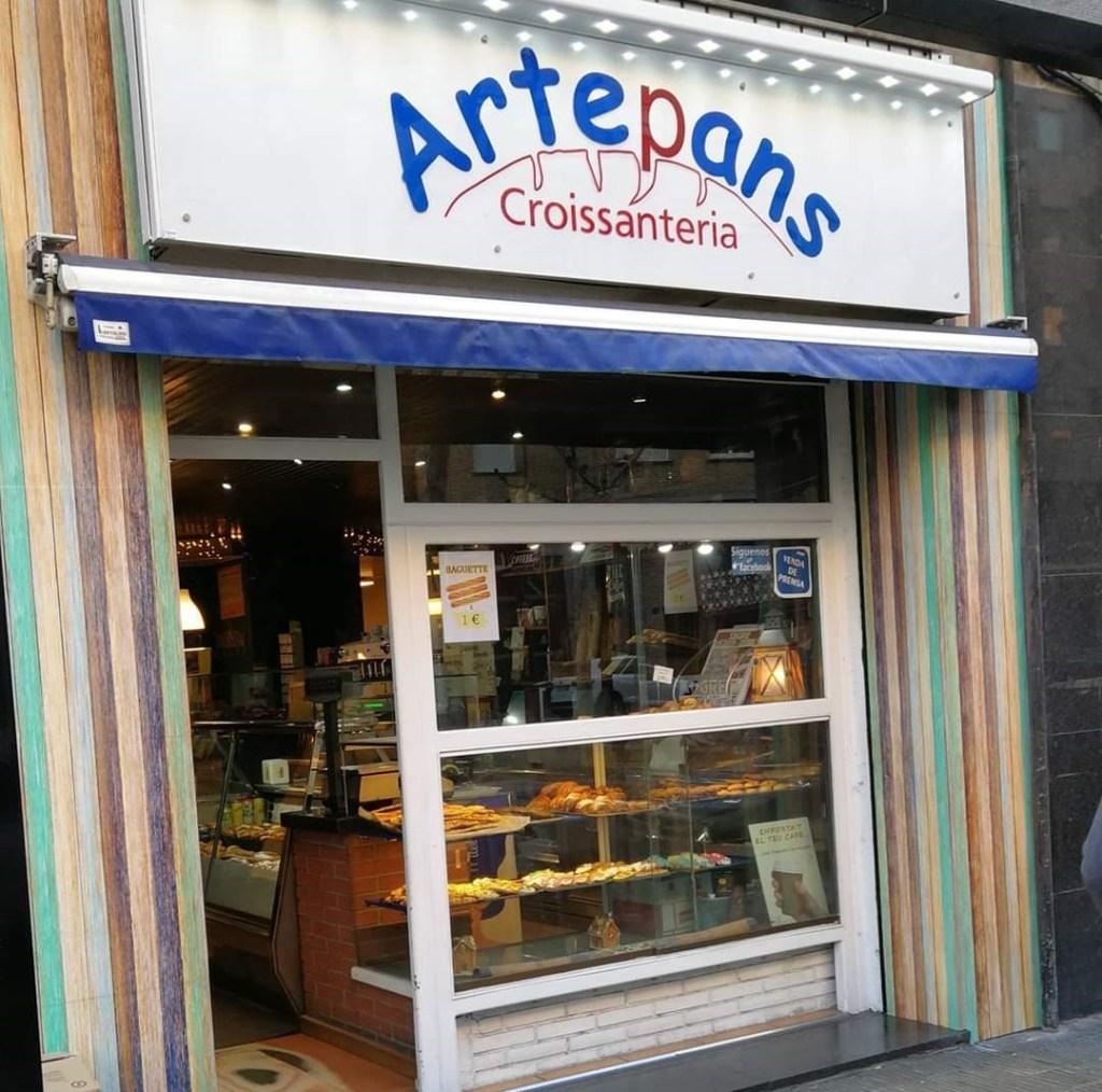 Tienda Artepans en Lleida