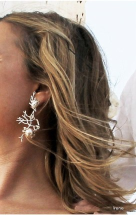 Pendientes de novia en plata 925 y perlas dulces (3)