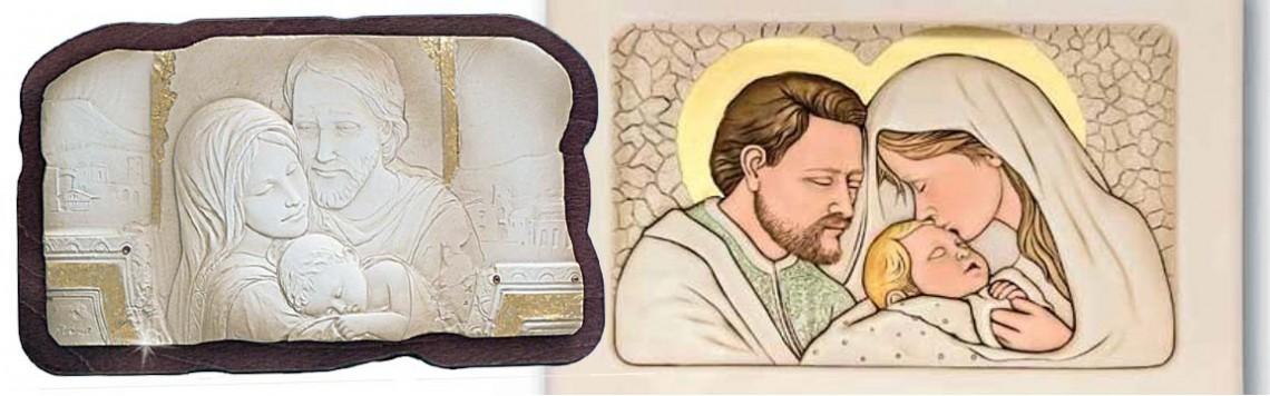 E' di certo l'oggetto più usato per decorare la camera da letto. Quadri Sacra Famiglia In Argento Icone Sacre