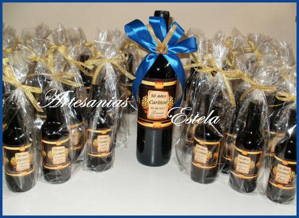 15 De Para Vino De Anos Con Centros Botellas Mesa