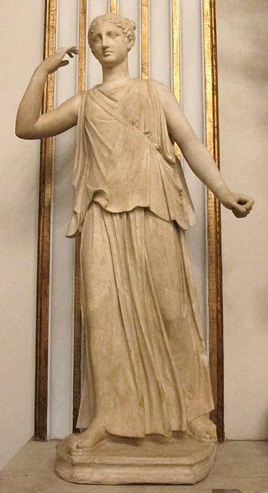 Deusa Grega Ártemis - peça do século IV a. C.
