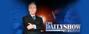 The background image for the Hulu internal page on The Daily Show.