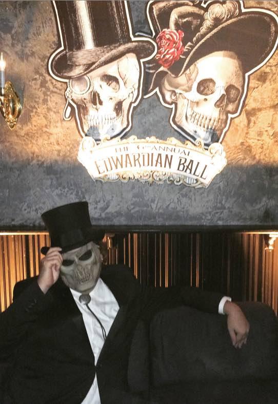 dave lafontaine as edwardian gentleman