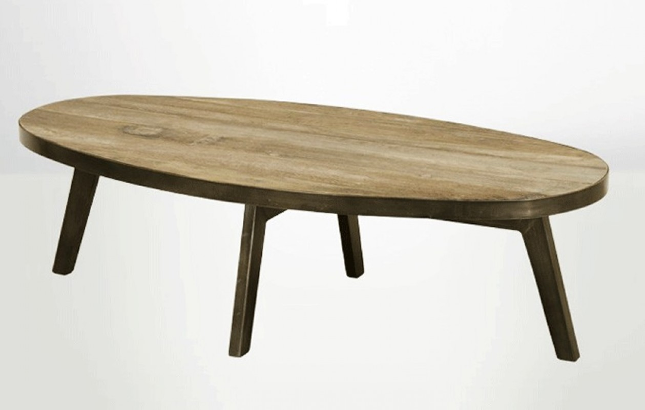 large oval coffee table old elm wood brushed metal legs oval coffee table brushed metal