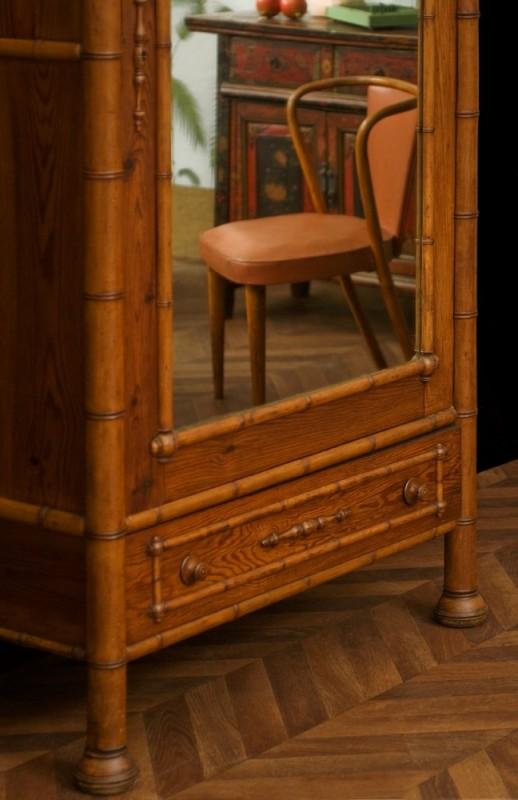1920 vintage wardrobe antique cabinet