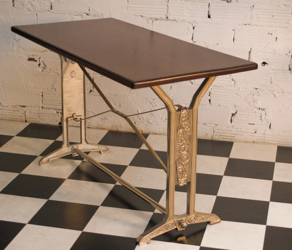Table Art Dco Vintage Rtro Ancienne Bistrot Salle