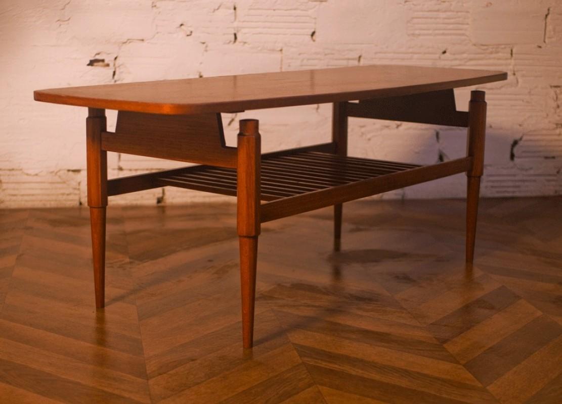 vintage coffee table rectangular