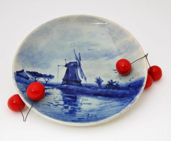 Assiette Faience Delft Cramique Objet Decoration