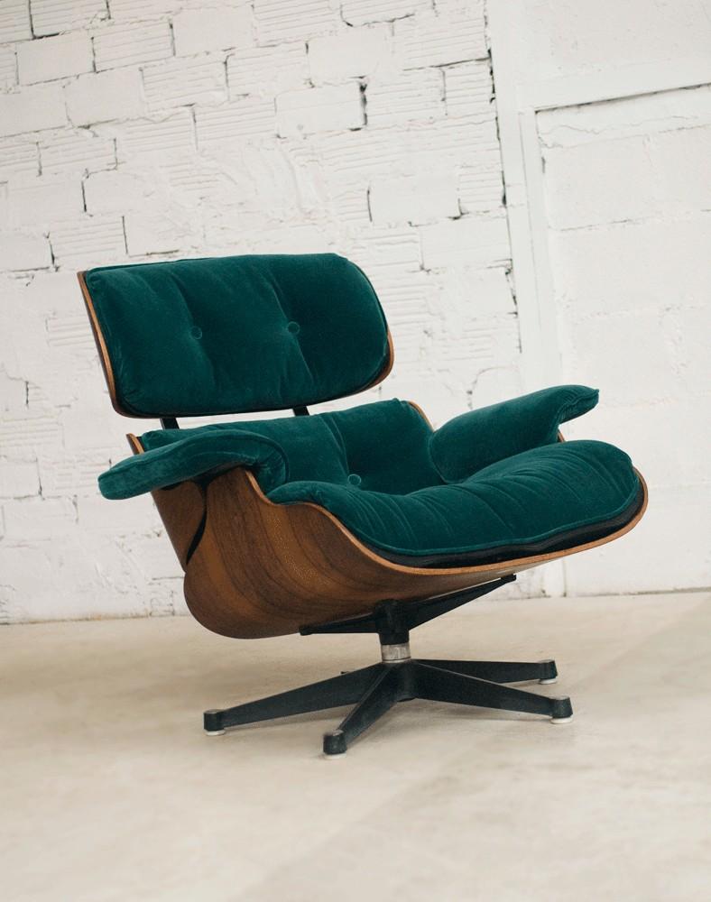 Lounge Chair Eames Charles Ray Eames Charles Eames Sofa Eames 1956 Rosewood Vitra Rubelli