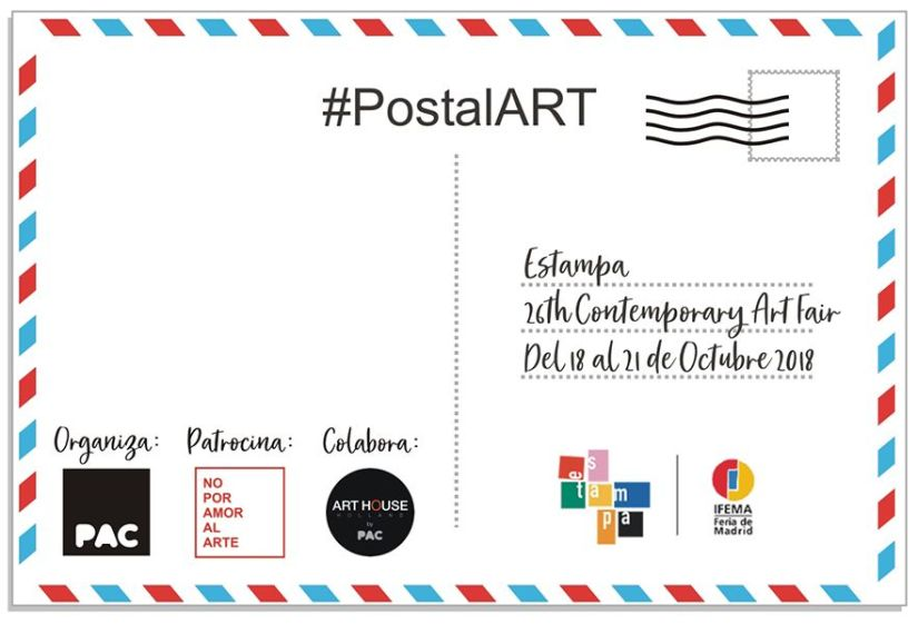 Postal Art by PAC
