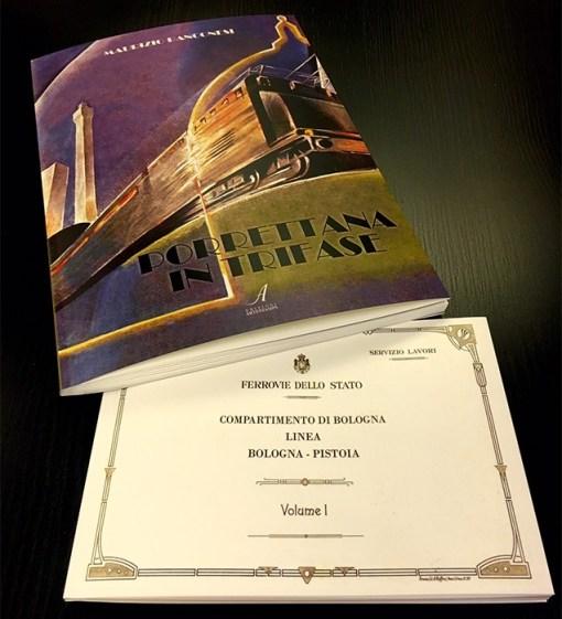 Porrettana in trifase, album linea Bologna-Pistoia, Edizioni Artestampa