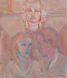 H08 - Indiscrétion du bas relief (65 x 54 cm)