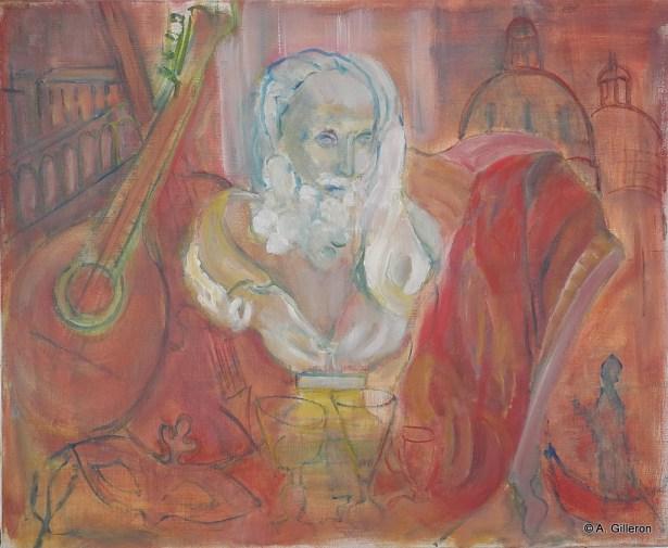 012 - Tout Venise - 60 x 73 cm - 600 €