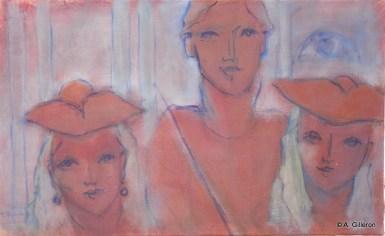 H45 - Carnaval 18ème (33 x 55 cm)