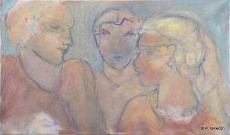 H59 - L'ami sans masque (38x61 cm)