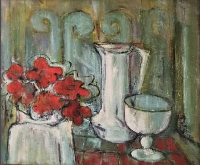 DA - Fleurs et volutes Collection particulière01