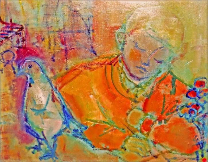 DA - L'enfant au pigeon Collection particulière02