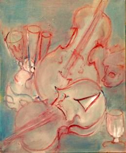 H34 - Concerto pour 2 violons et flutes (46x38 cm)